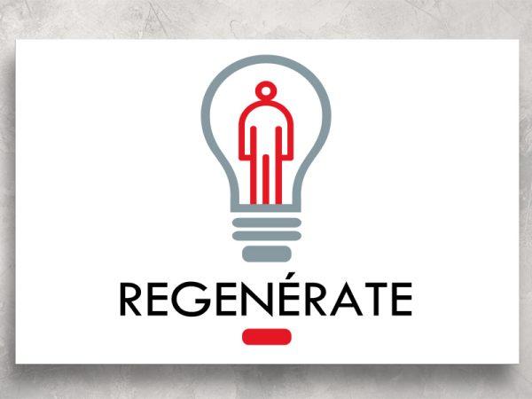 <span>REGENÉRATE – LOGO</span><i>→</i>