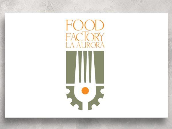 <span>FOOD FACTORY -LOGO</span><i>→</i>